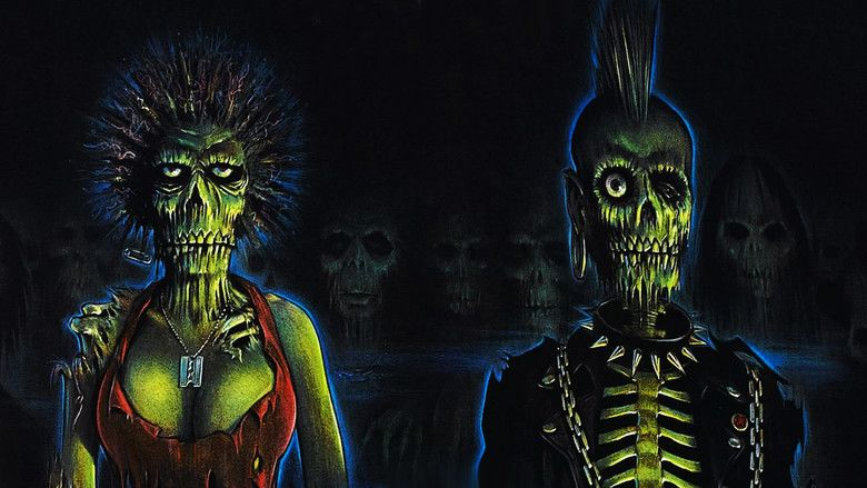 The Return of the Living Dead movie scenes