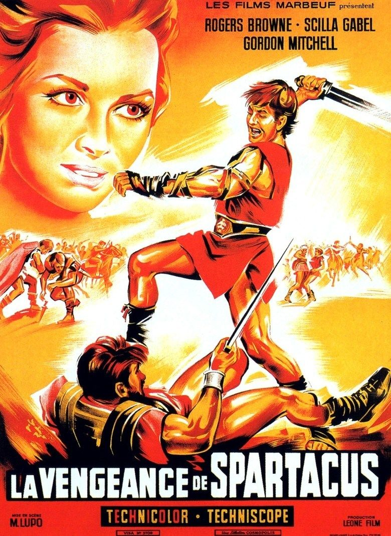 The Revenge of Spartacus movie poster