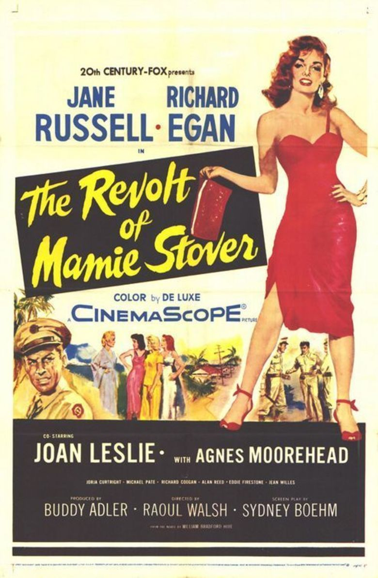 The Revolt of Mamie Stover (film) movie poster