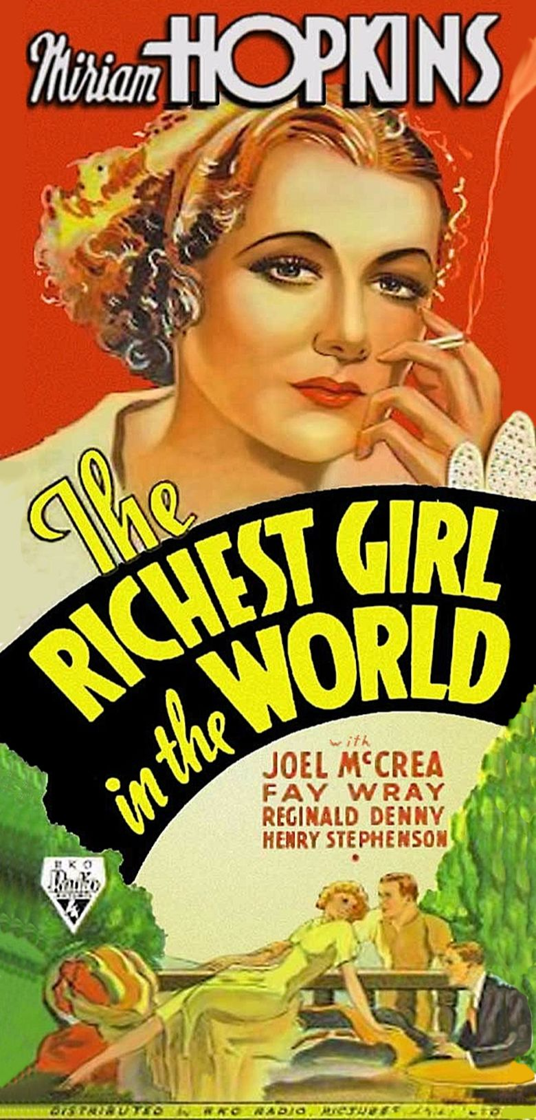The Richest Girl in the World (1934 film) movie poster