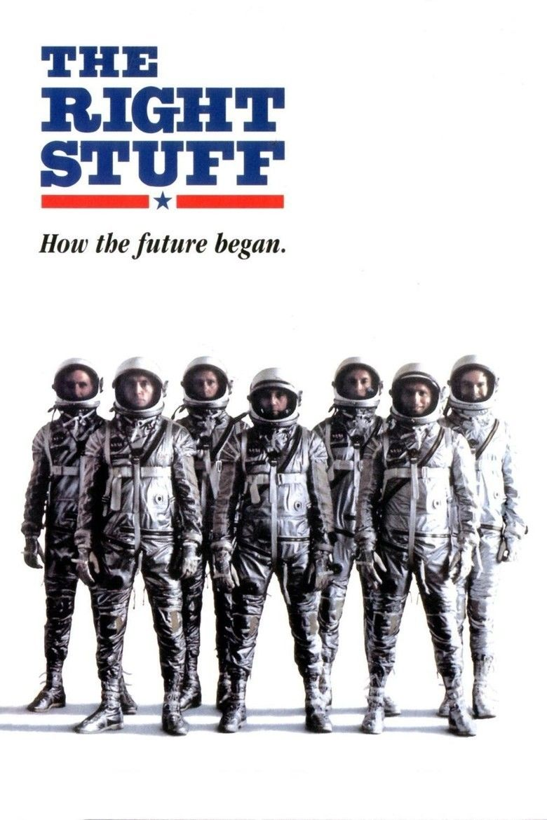 The Right Stuff (film) movie poster