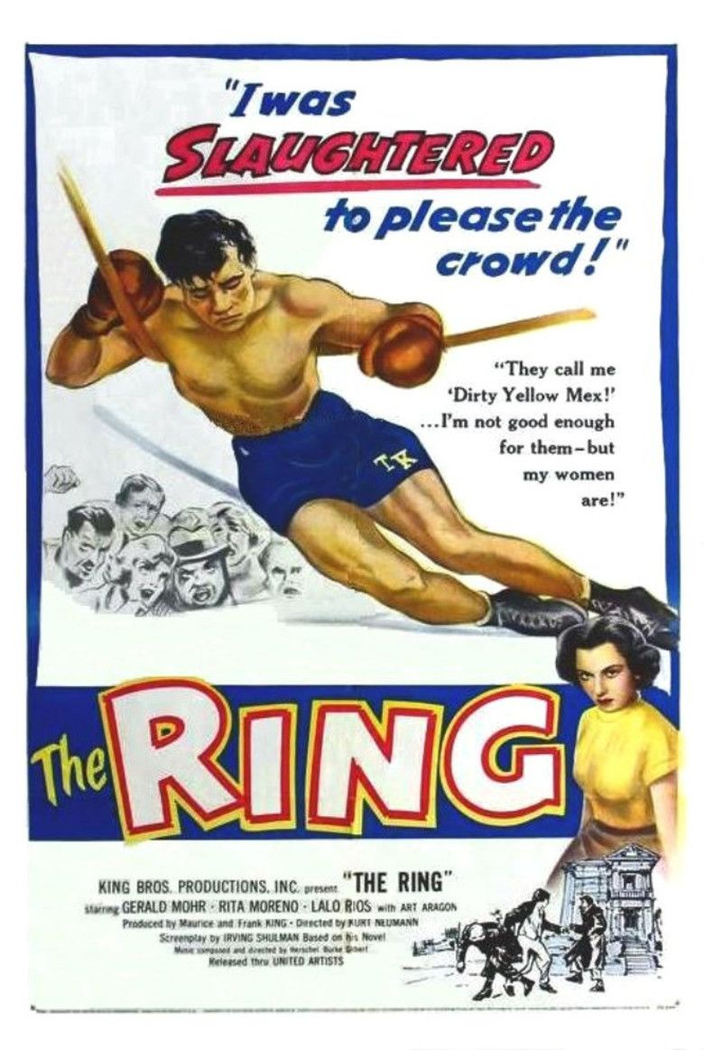 The Ring (1952 film) movie poster