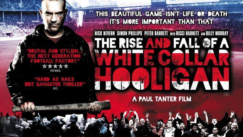 The Rise and Fall of a White Collar Hooligan movie scenes