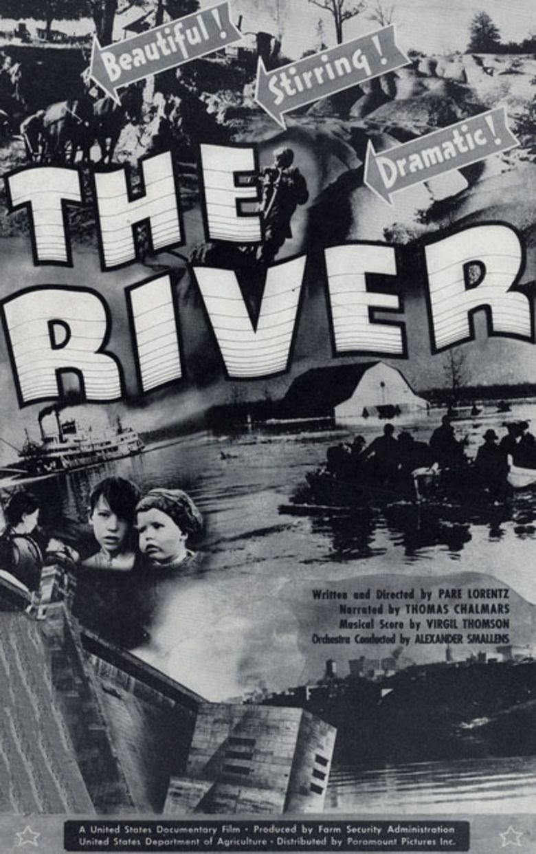 The River (1938 film) movie poster