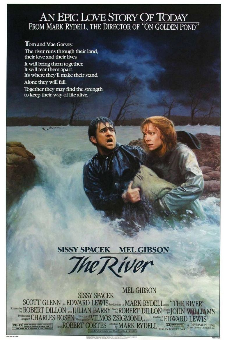 The River (1984 film) movie poster