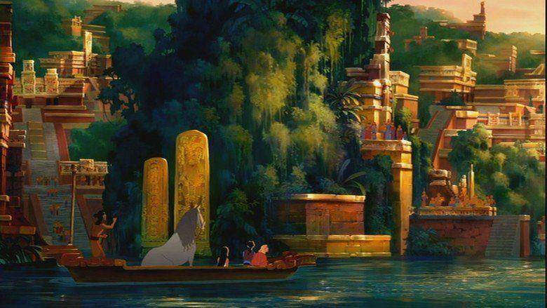The Road to El Dorado movie scenes