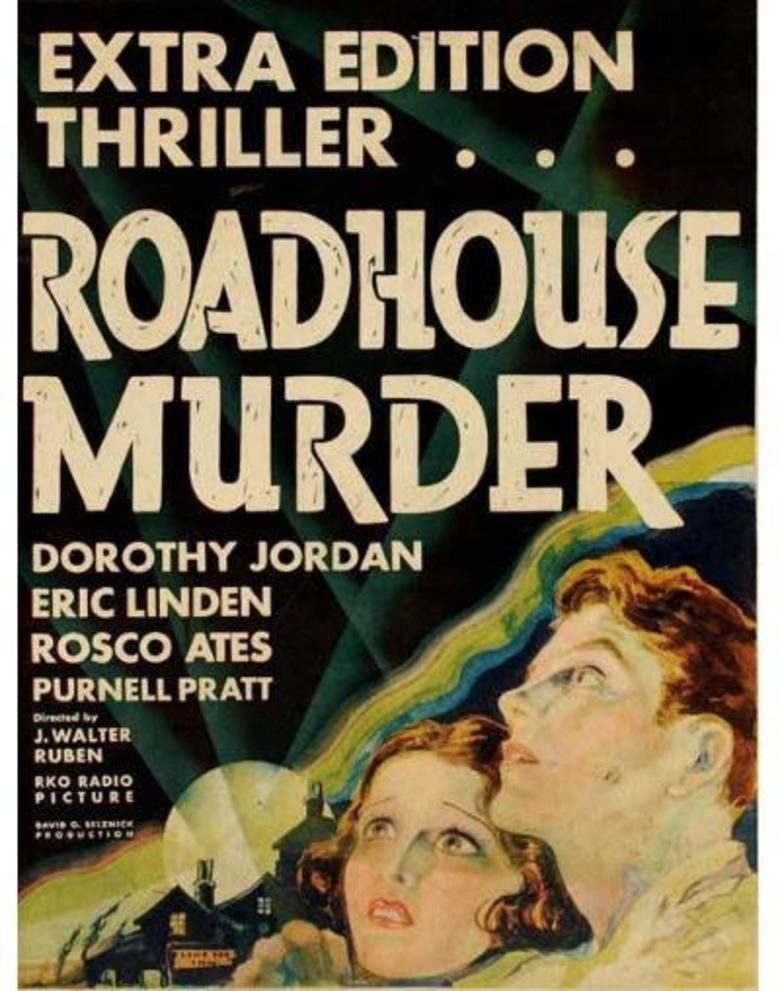 The Roadhouse Murder movie poster