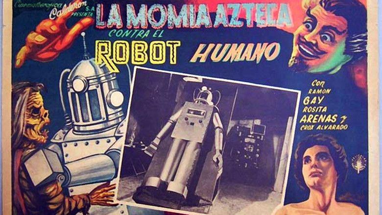 The Robot vs The Aztec Mummy movie scenes