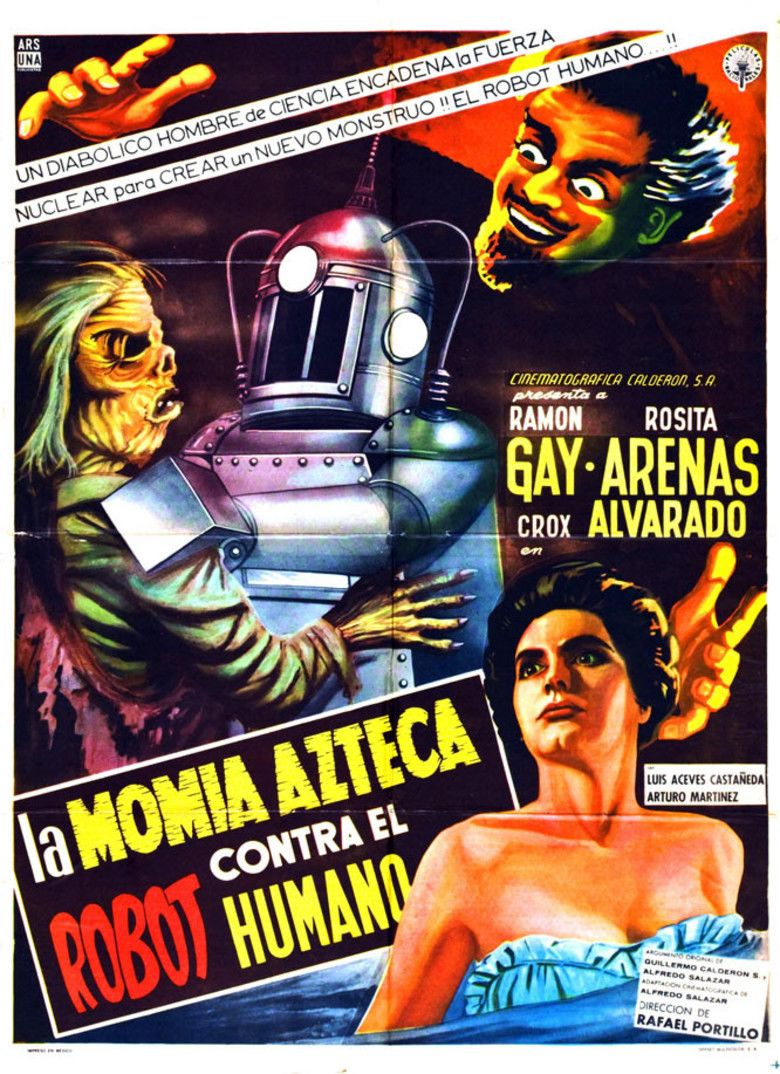 The Robot vs The Aztec Mummy movie poster