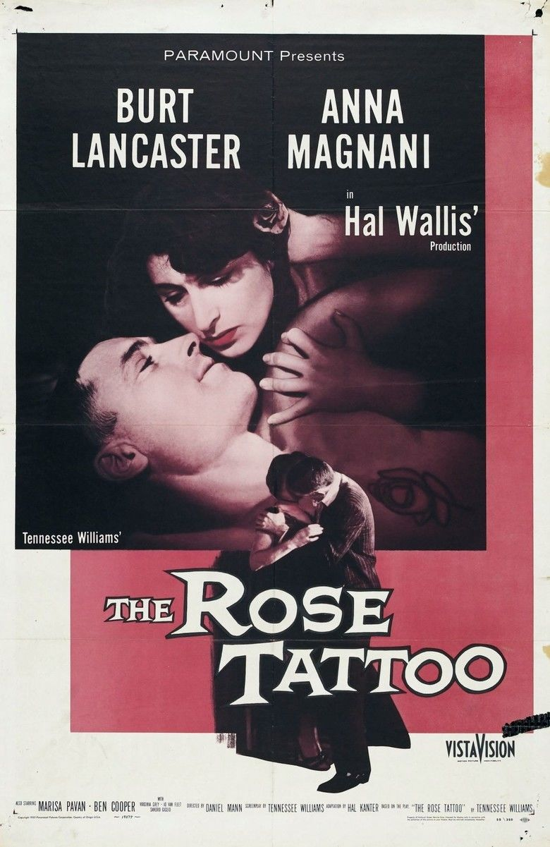 The Rose Tattoo (film) movie poster