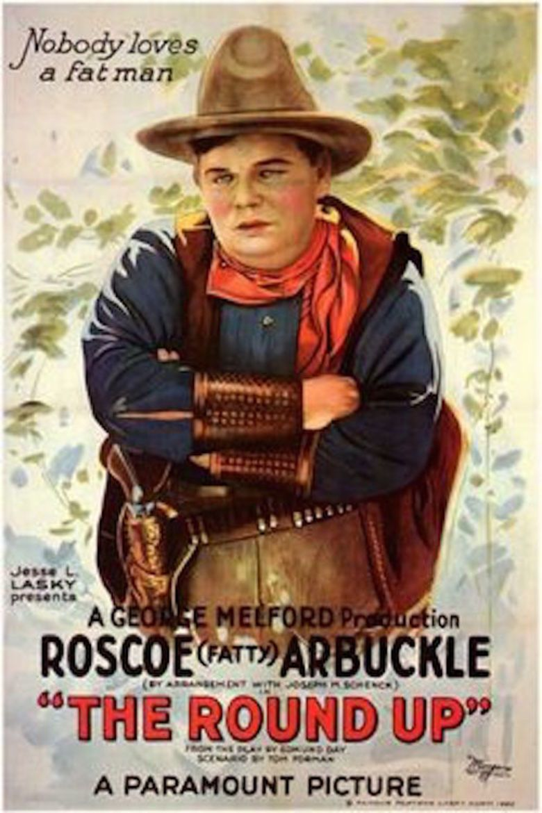 The Round Up (1920 film) movie poster