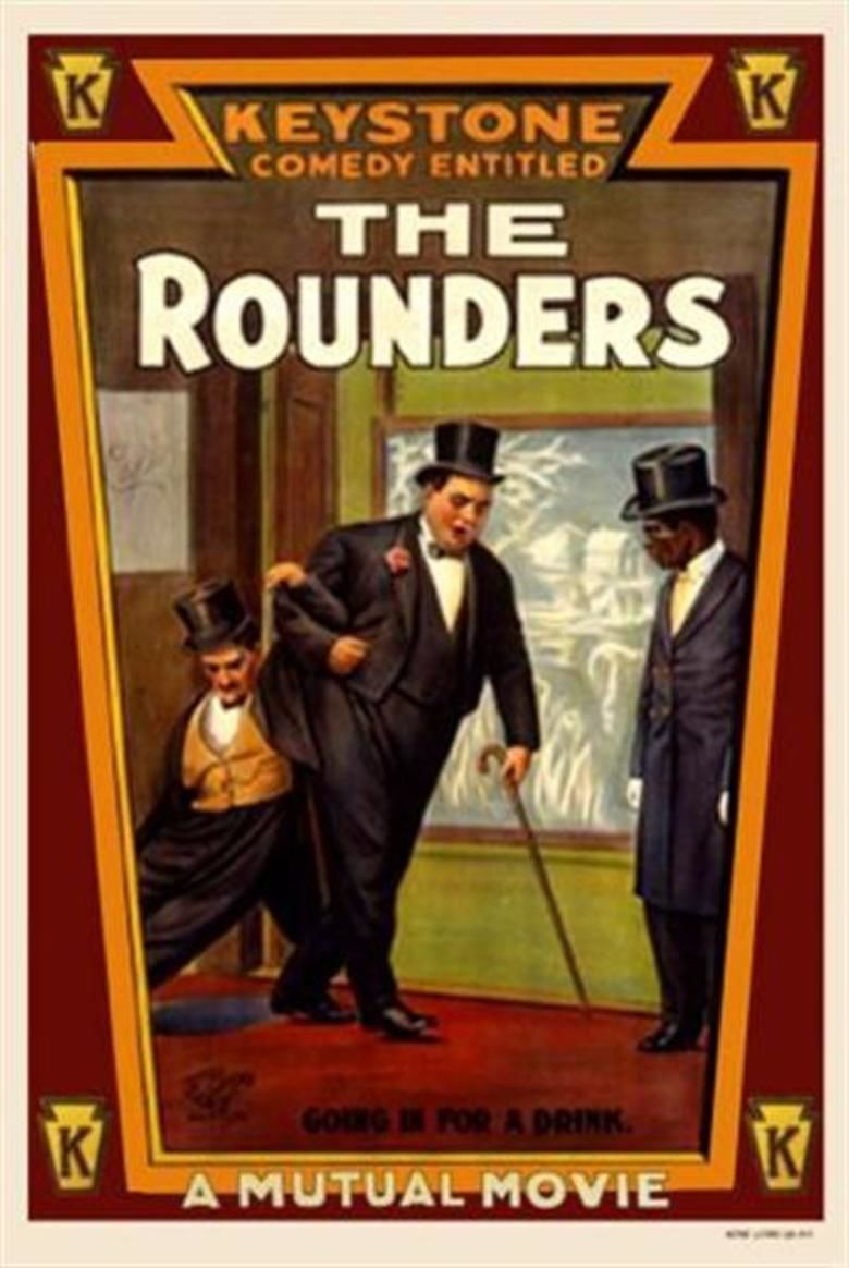 The Rounders (1914 film) movie poster
