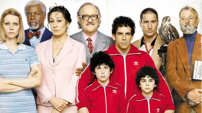 The Royal Tenenbaums movie scenes