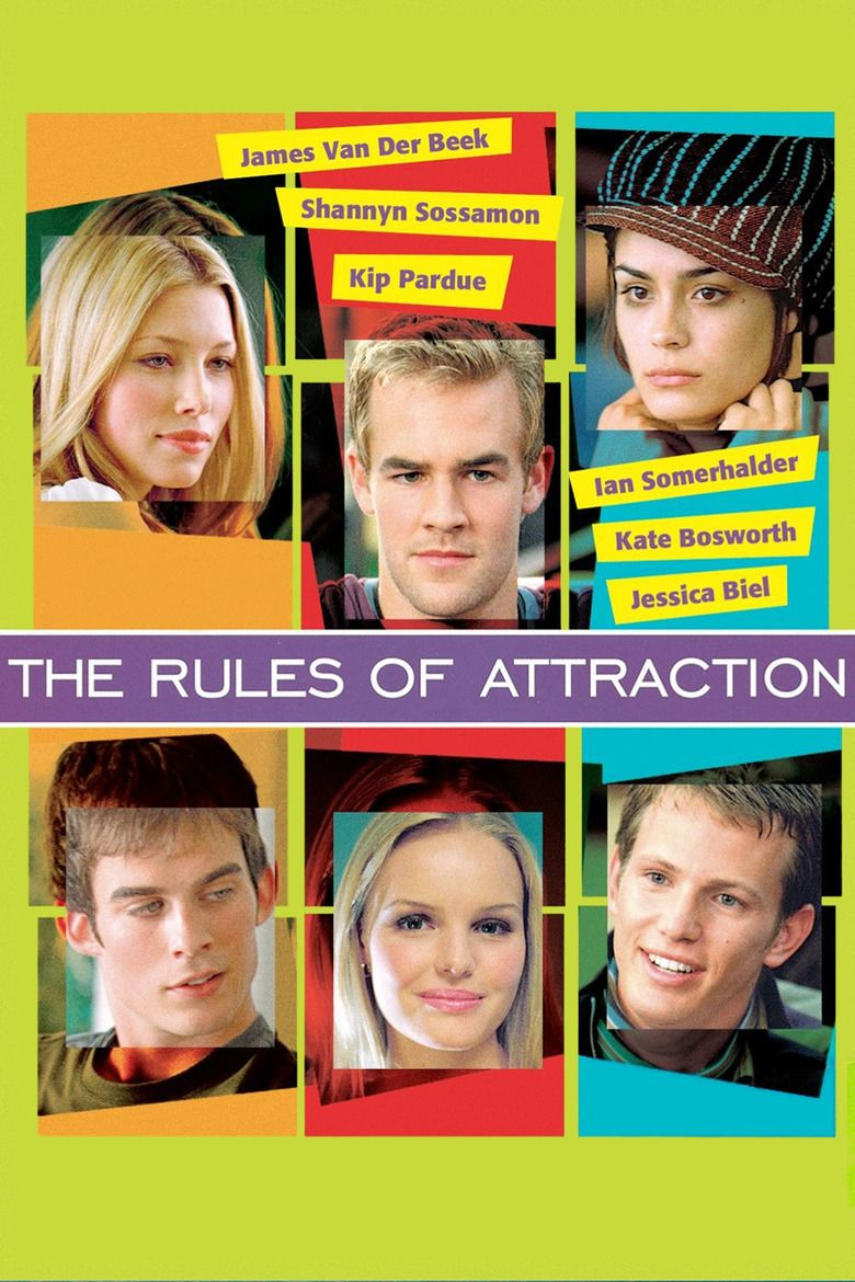 The Rules of Attraction (film) movie poster