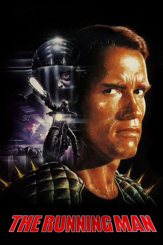 The Running Man (1987 film) movie poster