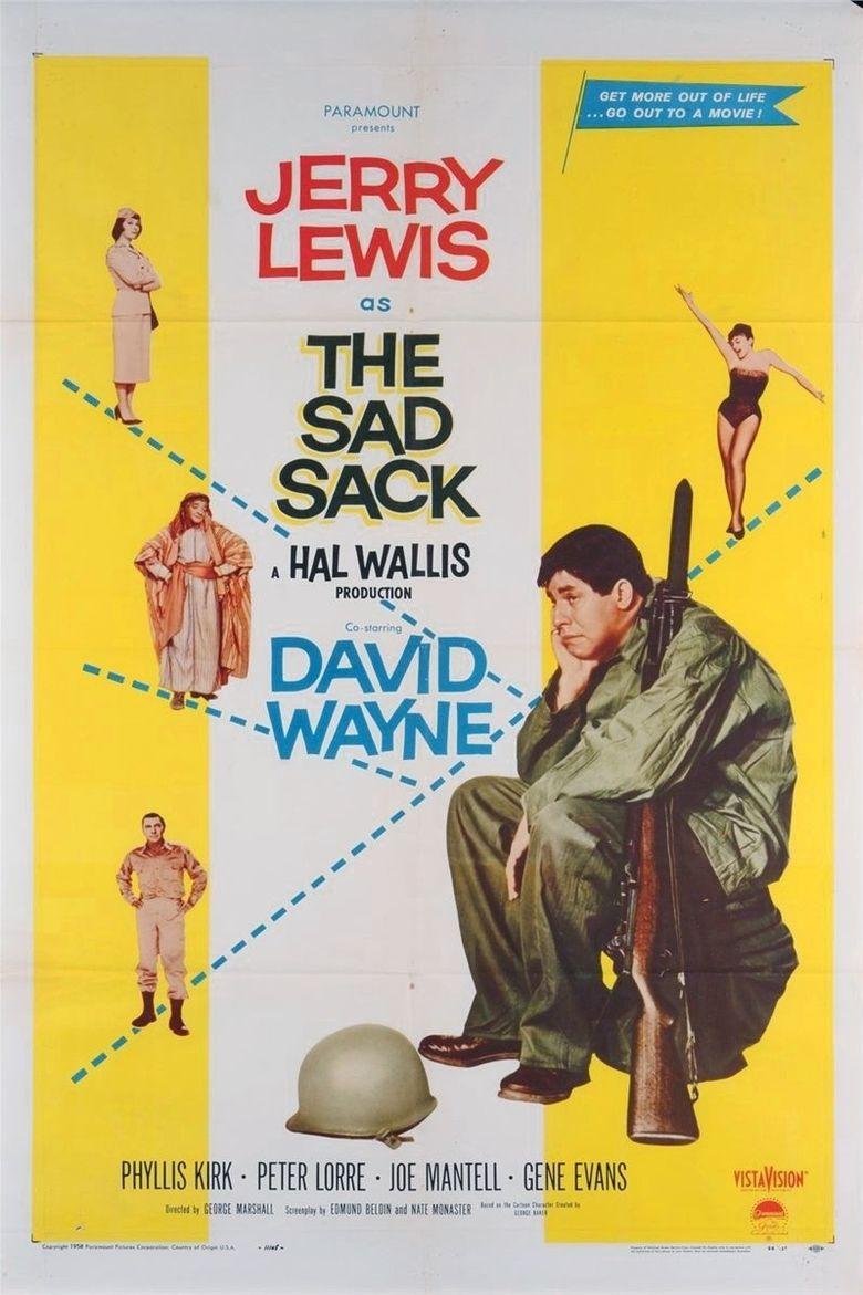 The Sad Sack movie poster