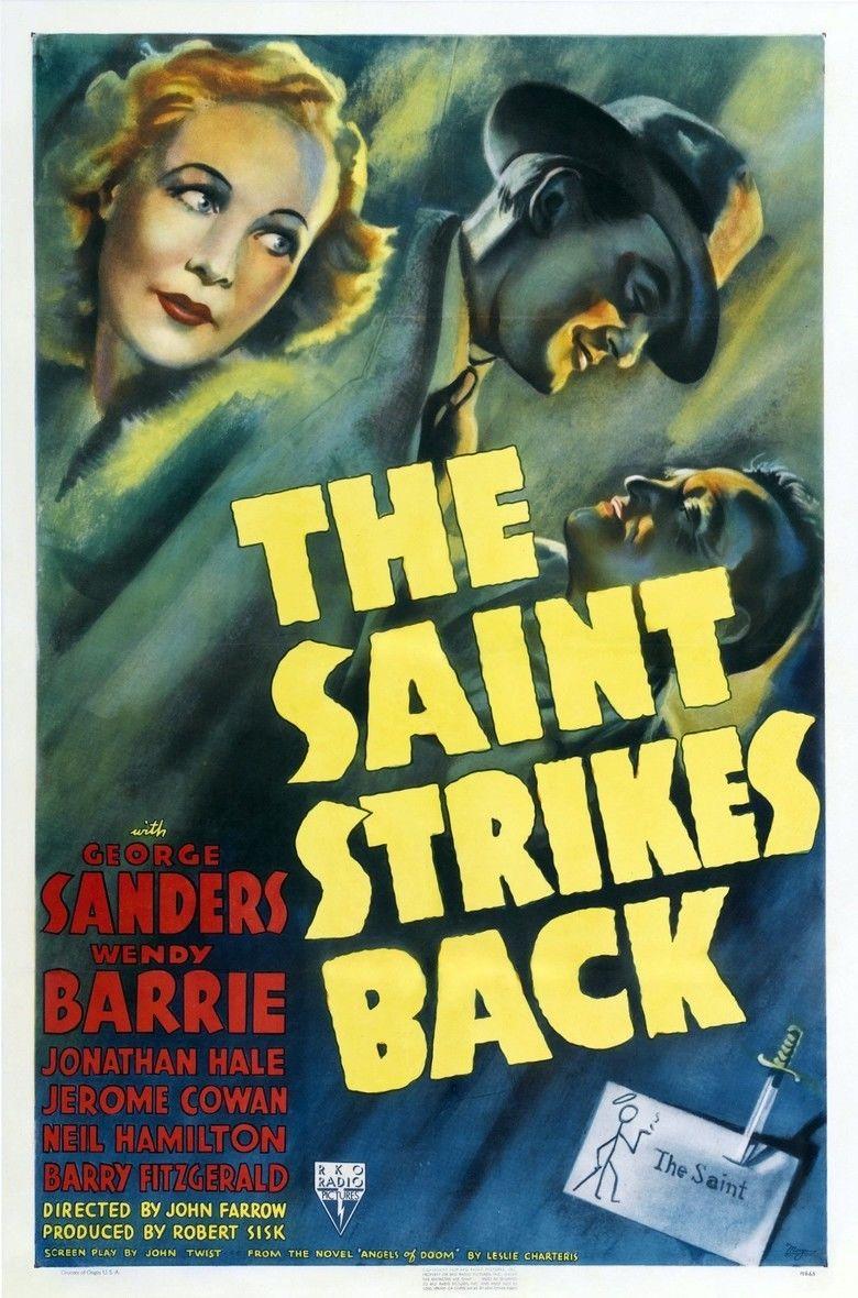 The Saint Strikes Back movie poster