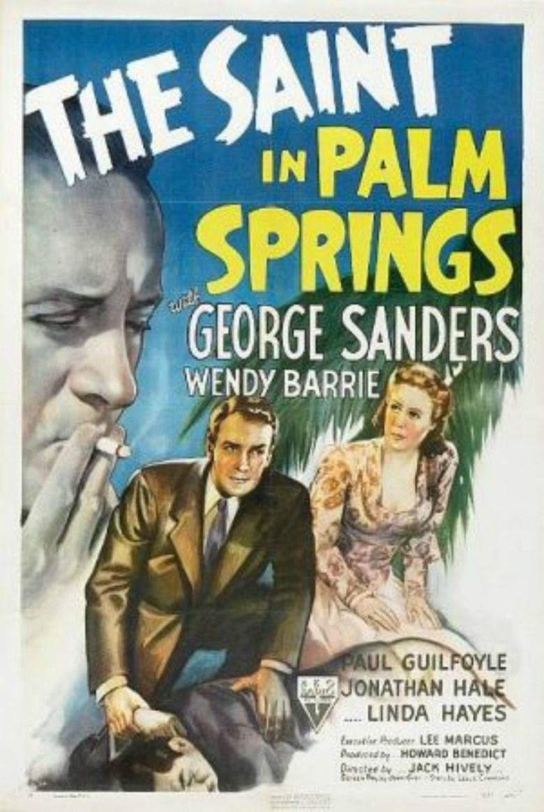 The Saint in Palm Springs movie poster