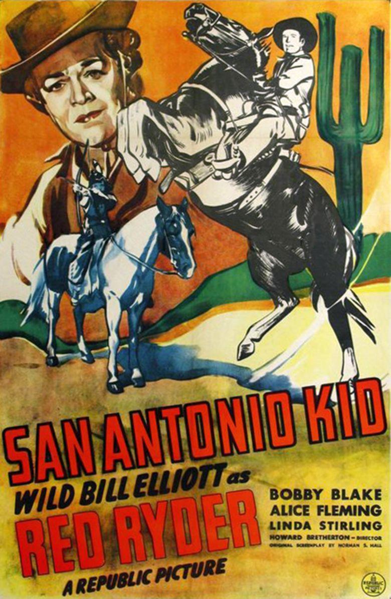 The San Antonio Kid movie poster