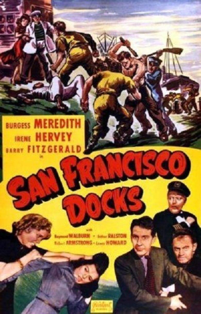 The San Francisco Docks movie poster