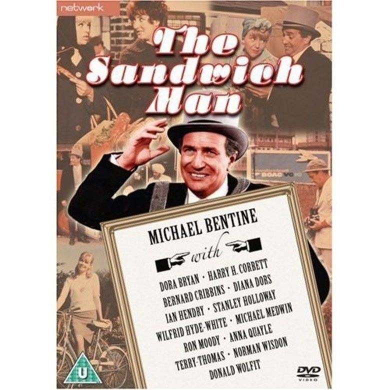 The Sandwich Man (1966 film) movie poster