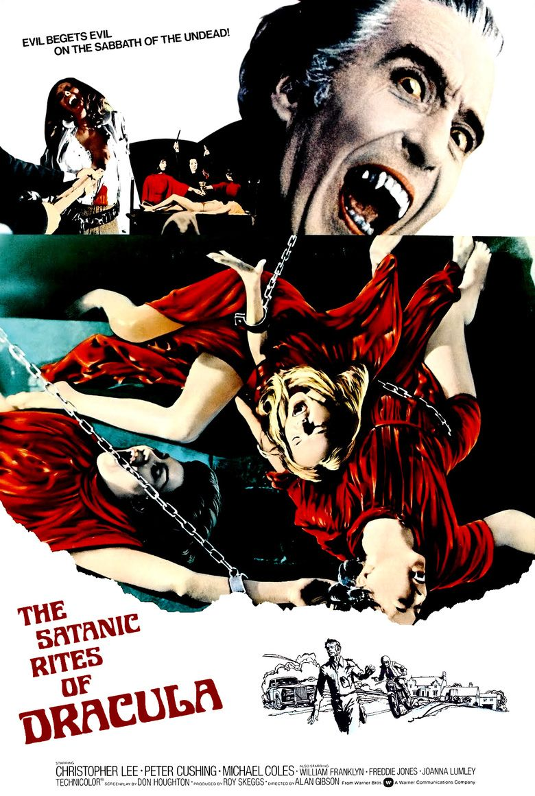 The Satanic Rites of Dracula movie poster