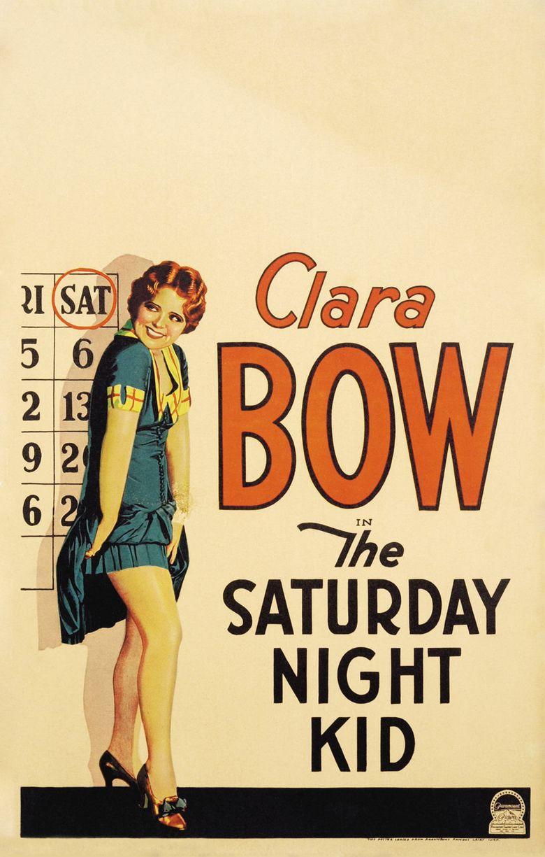 The Saturday Night Kid movie poster