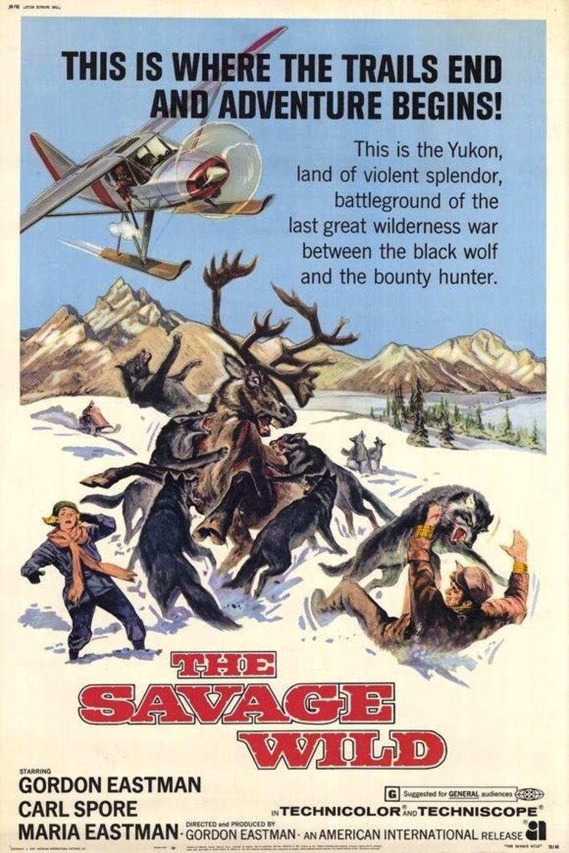 The Savage Wild movie poster