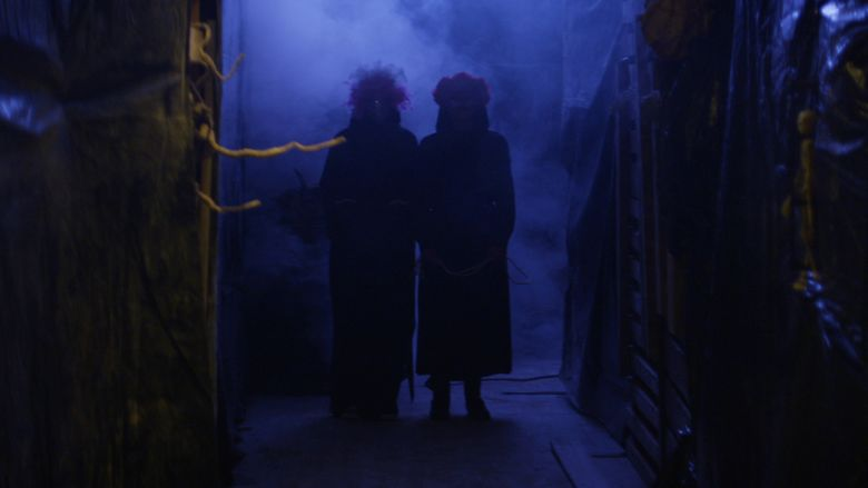 The Scarehouse movie scenes
