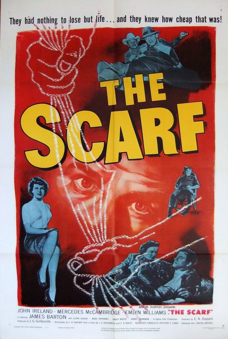 The Scarf (film) movie poster