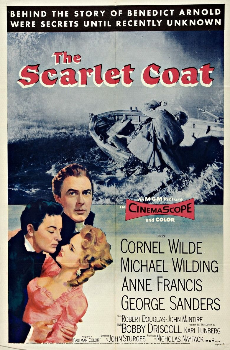 The Scarlet Coat movie poster