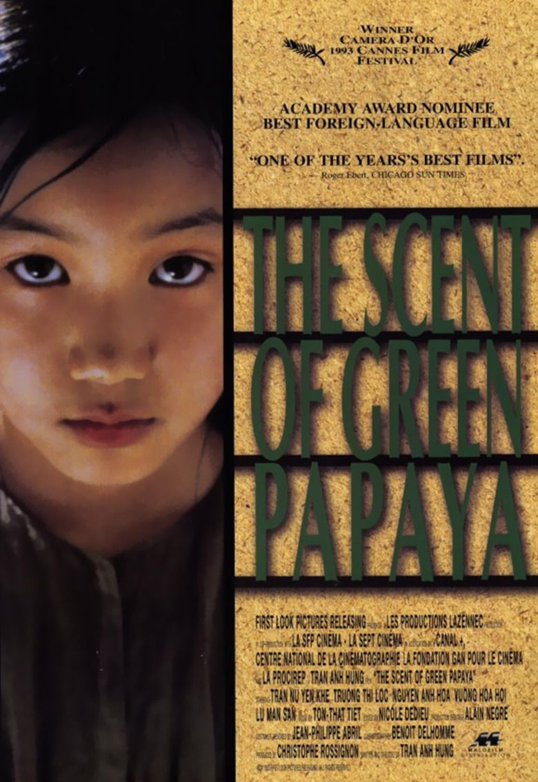 The Scent of Green Papaya movie poster