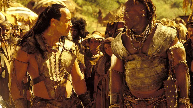 The Scorpion King movie scenes