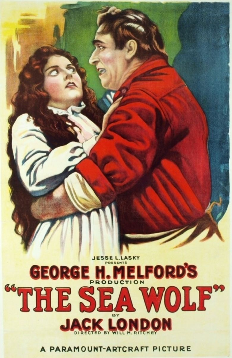 The Sea Wolf (1920 film) movie poster