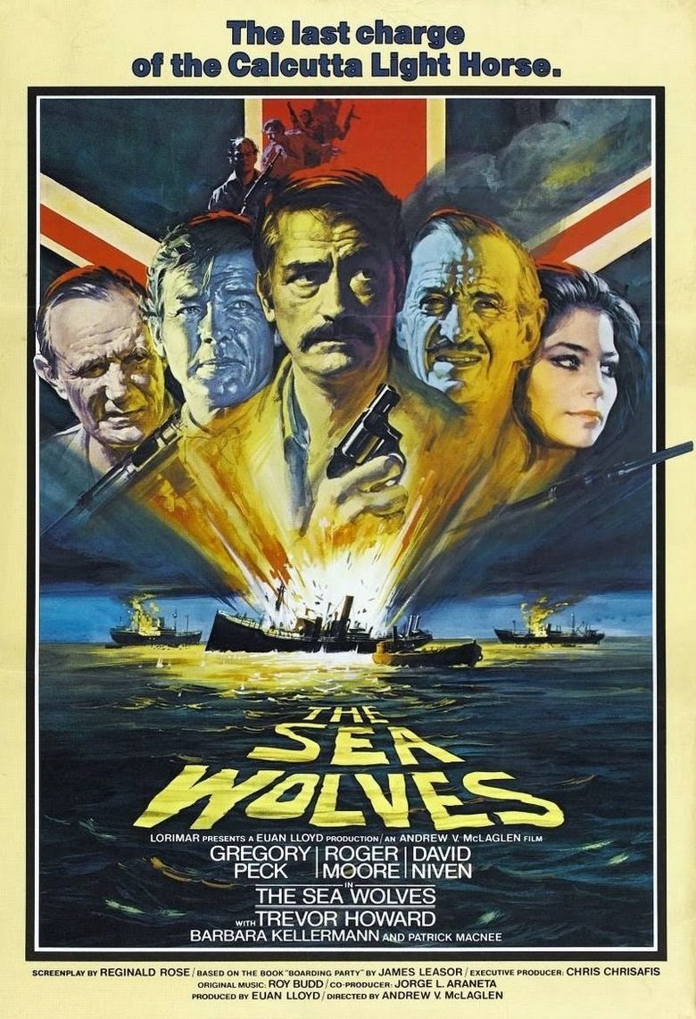 The Sea Wolves movie poster