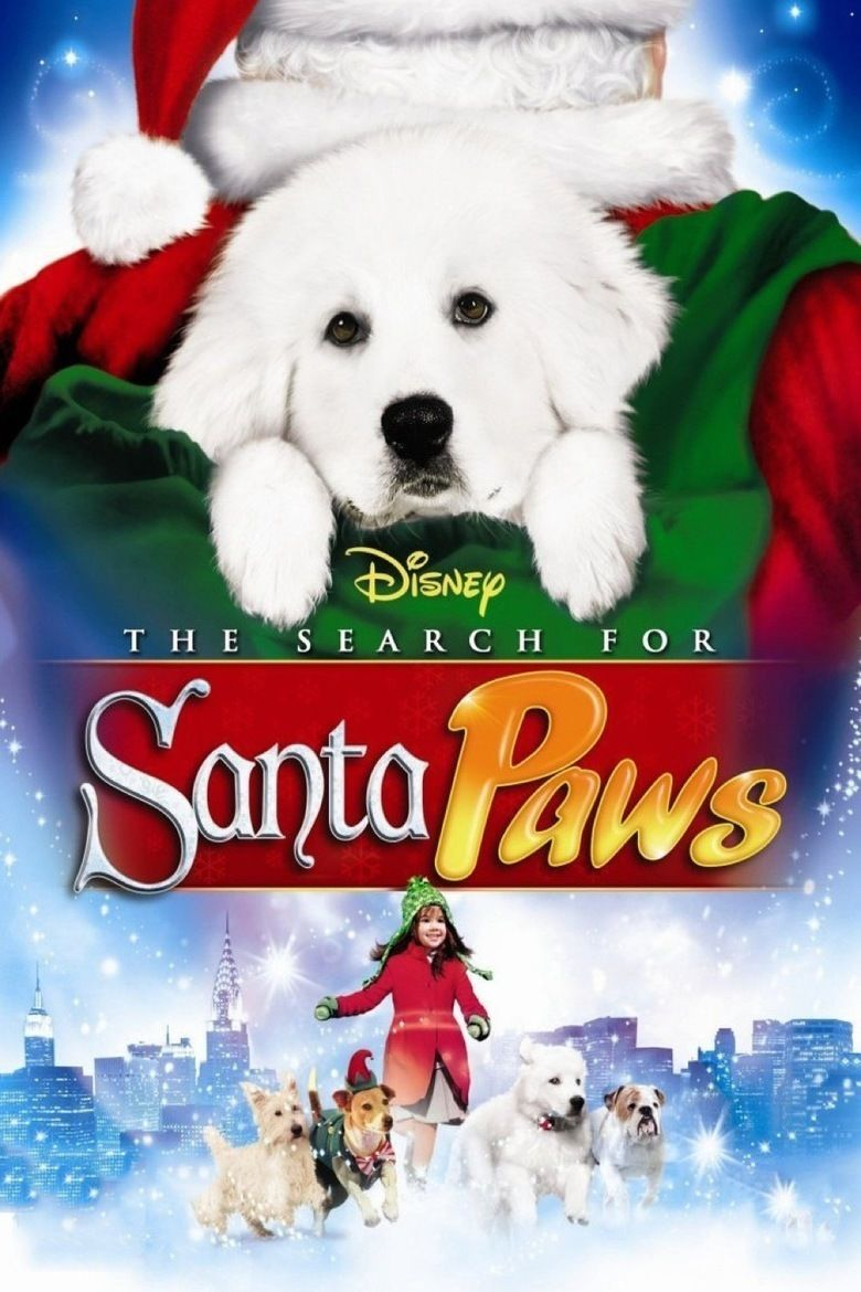 The Search for Santa Paws movie poster