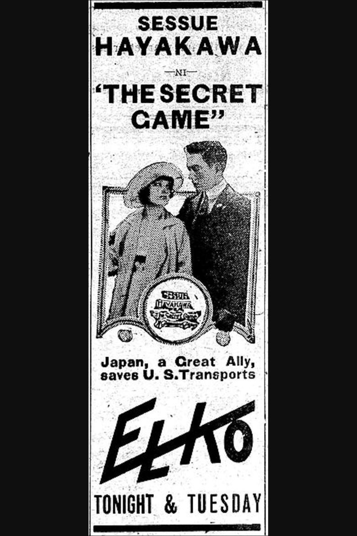 The Secret Game (1917 film) movie poster