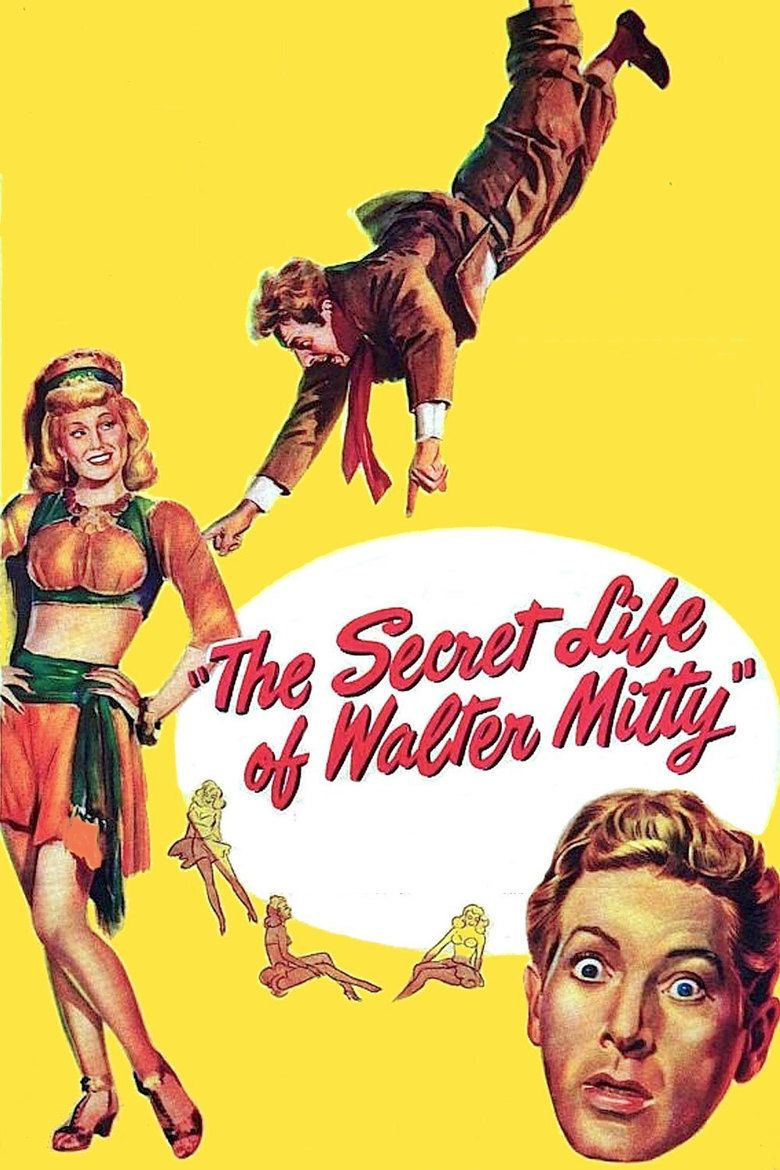 The Secret Life of Walter Mitty (1947 film) movie poster