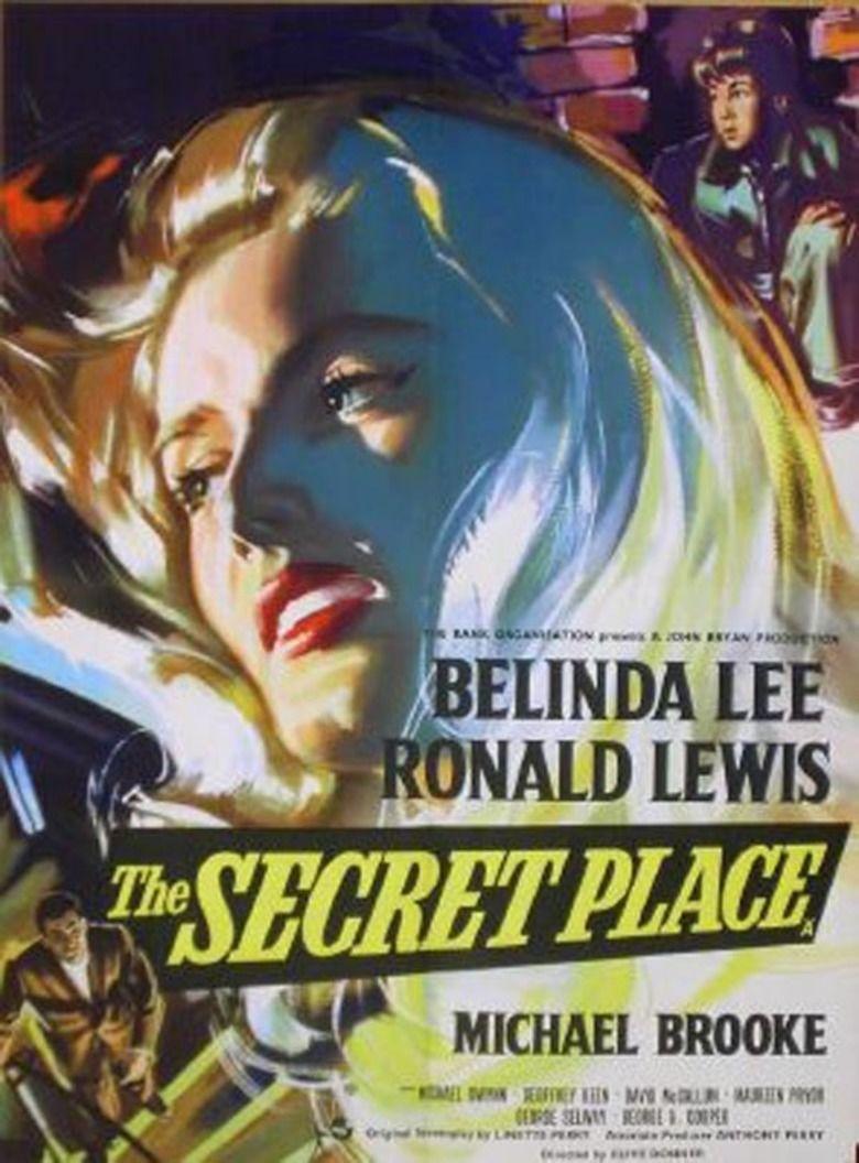 The Secret Place (film) movie poster