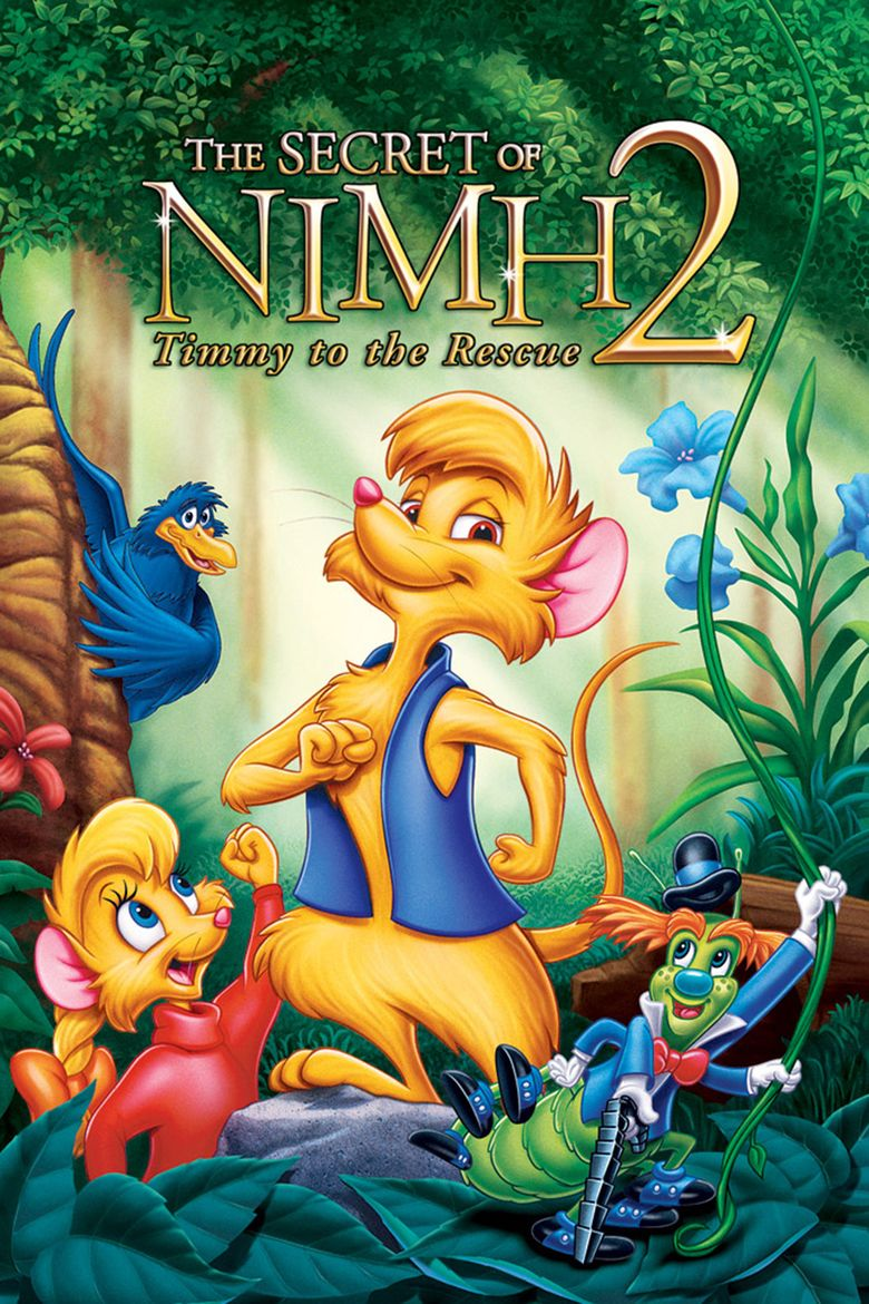 The Secret of NIMH 2: Timmy to the Rescue movie poster