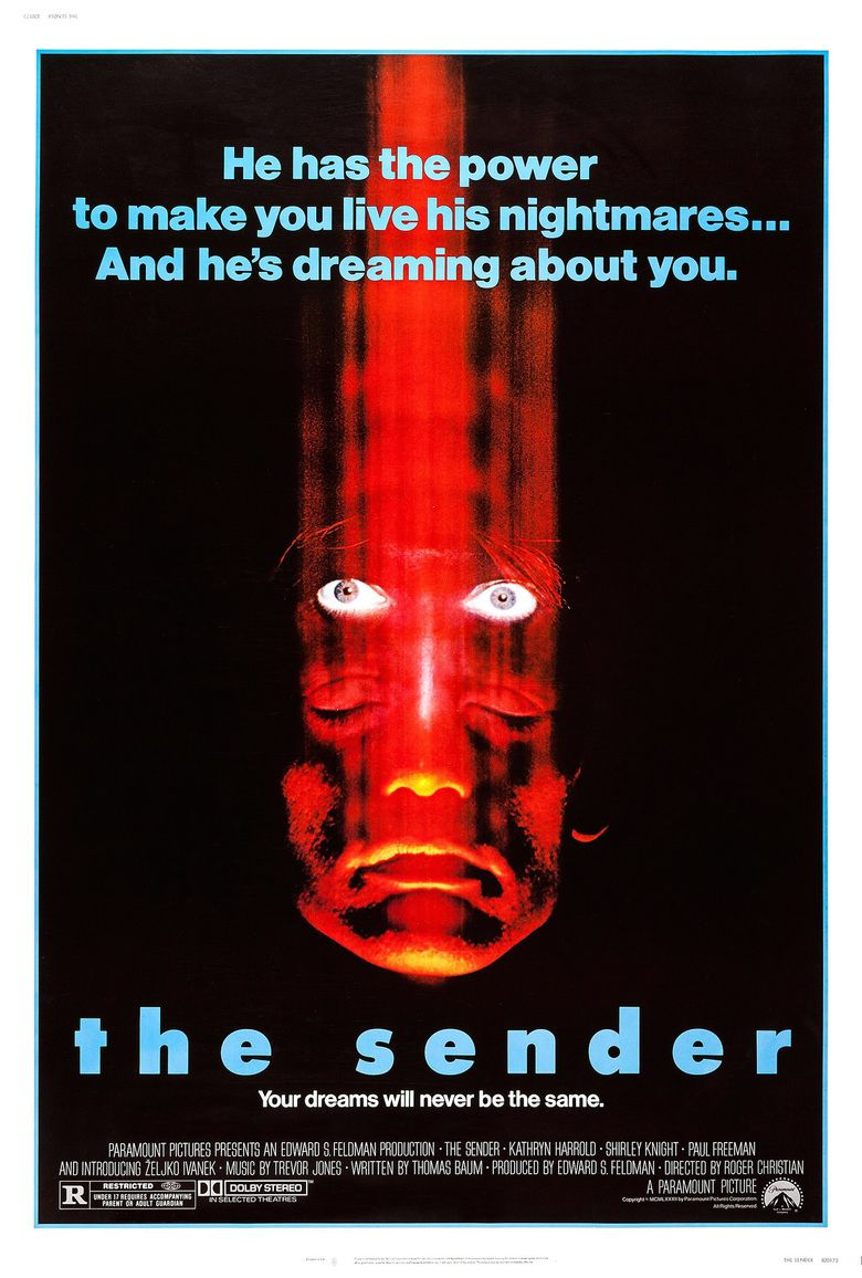 The Sender movie poster
