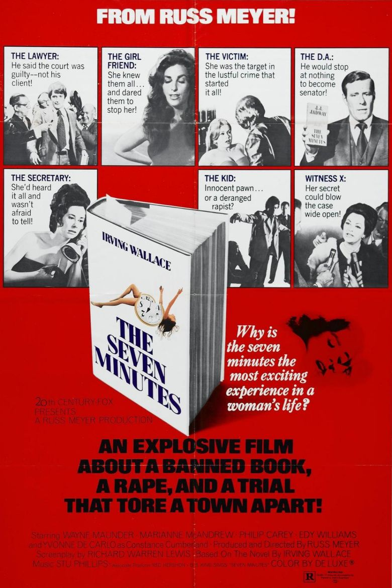 The Seven Minutes (film) movie poster