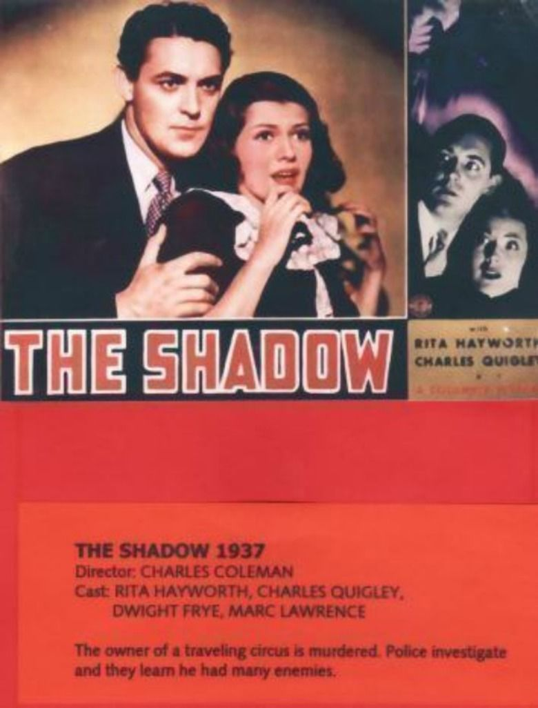 The Shadow (1937 film) movie poster