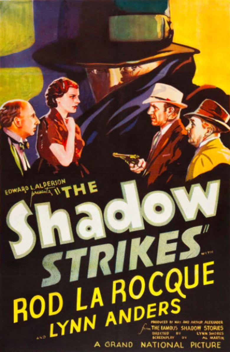 The Shadow Strikes movie poster