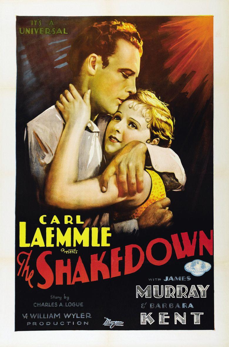 The Shakedown (1929 film) movie poster