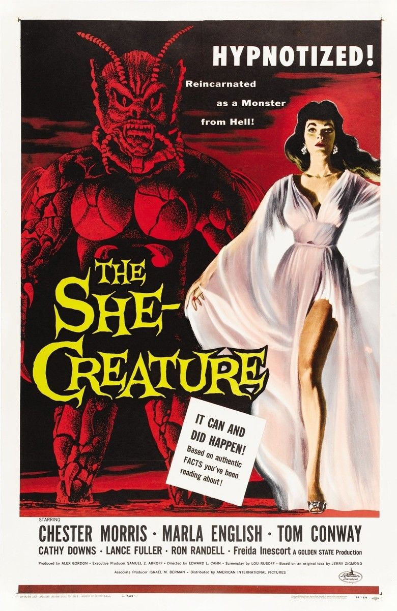 The She Creature movie poster
