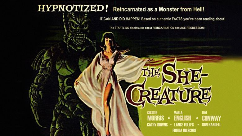 The She Creature movie scenes