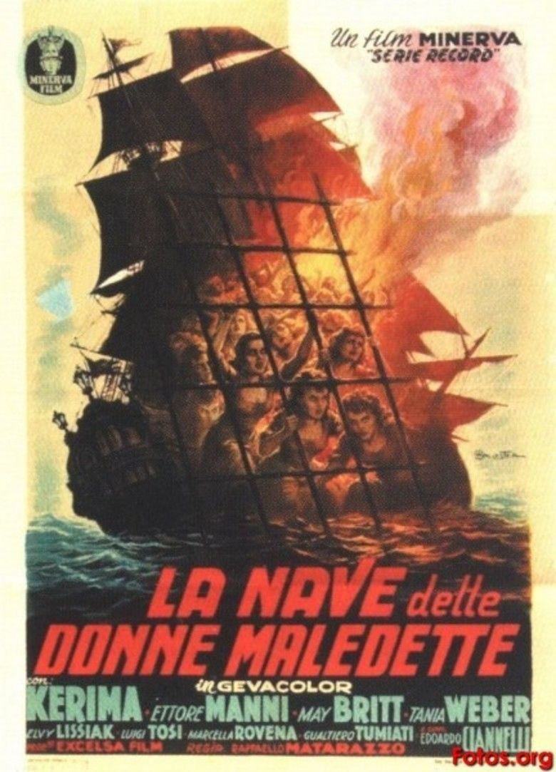 The Ship of Condemned Women movie poster