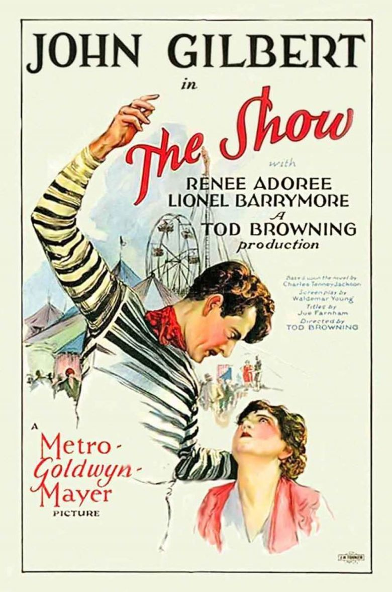 The Show (1927 film) movie poster