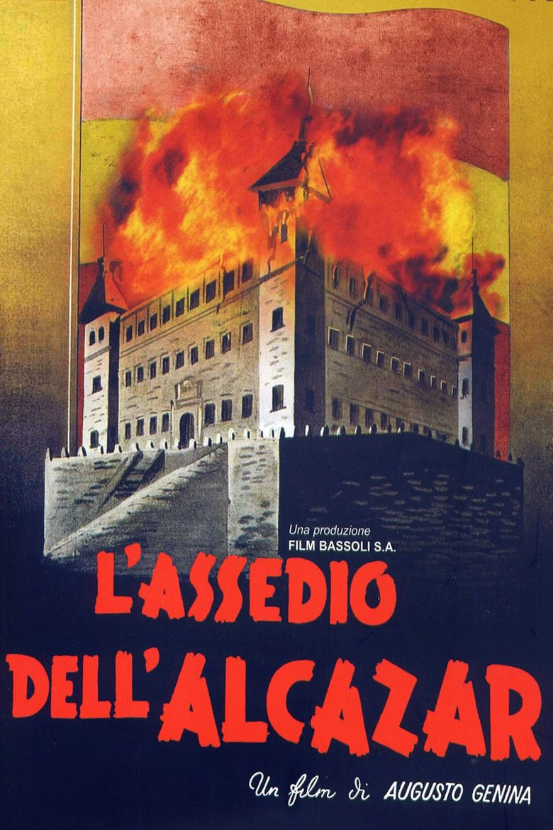 The Siege of the Alcazar movie poster